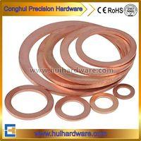 DIN Standard Brass/Copper Seal Flat Washer Sealing O Ring Gasket Washer