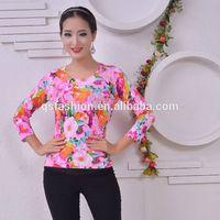 All over flower print pullover sweater korean style sweater korean style sweater thumbnail image