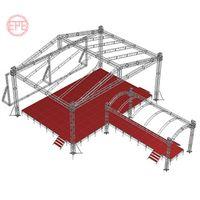 Top quality 290mm China truss aluminum stage frame truss structure/Event lighting spigot dj truss/ a thumbnail image