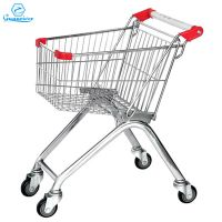 High quality customized Europe supermarket shopping trolley cart thumbnail image