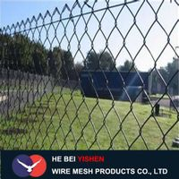 Sport ground fence chain link fence