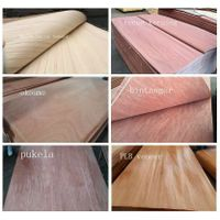Natural wood veneer Recon Gurjan Veneer