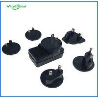 Detachable plugs 5V 1A Micro USB AC DC adapter with UL cUL PSE CE KC