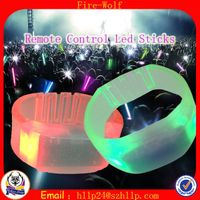 The Remote control Led Bracelet Led Flashing Bracelet Led Glow Bracelet