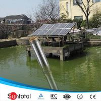 1.6hp dc open well water pump solar powered for home