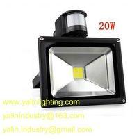 motion detector LED floodlight, PIR sensor outdoor flood light