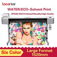 1.52m Dx8 Printhead Eco Solvent Printer