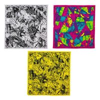 Fitness exercise running dancing yego Keep On Glowing Bandanas 3pk