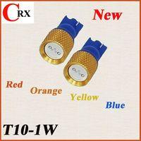 High power 1w led car light T10 Golden Viens