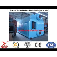 8 ton Double Drum Steam Boiler