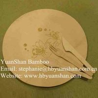 biodegradable bamboo plates