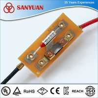 RY series thermal fuse for clothes dryer with UL TUV VDE certifications