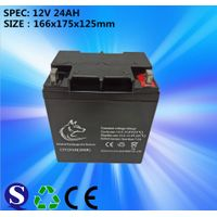 Lead Acid Battery GEL 12v 24ah Battery For Solar System Make In China Feilang