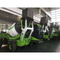 Constrction machinery 1.2 Cubic mixer truck with automatic loading
