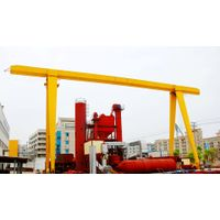 China Supplier Outdoor Single Girder Gantry Crane