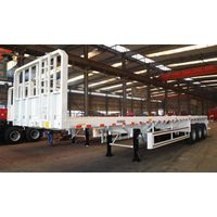 Flat Bed Trailer with Front Wall thumbnail image