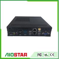 desktop playback box Industrial computer with three display thumbnail image