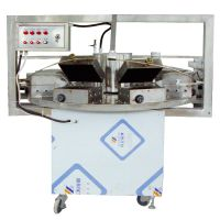adjustable temperature control manual egg roll machine/maker