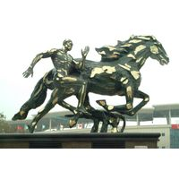 Large Horse Bronze Sculpture thumbnail image
