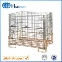 China high quality galvanized warehouse heavy duty security cage