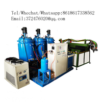 Fully automatic robotic pu insole making injection low pressure machine soles banana type production