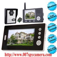 Wireless Video Door Phone With Dual Receivers (CMOS Sensor) LM-VDP730 thumbnail image