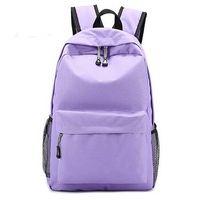 High Quality Female Canvas Satchel Girls Zipper Backpack