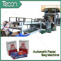 High Efficiency Paper Bag Fabrication Facilities with Flexo Printing thumbnail image