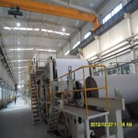 2400mm test liner paper making machine