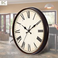 11 inch hot sale retro plastic wall clock with different color