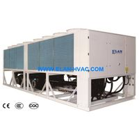 Air Cooled Screw Industrial Chiller R407C R134a R404a