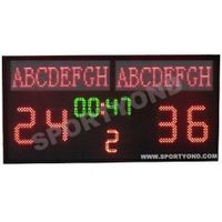 basketball electronic scoreboard