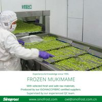 IQF Mukimame/IQF Green Soy Beans Kernels/Frozen Mukimame /IQF Shelled Edamame thumbnail image