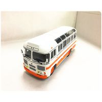 Die-cast zinc alloy bus model production