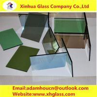 4mm reflective glass_reflective glass for shower doors_reflective insulated glass_3~12mm