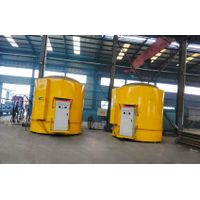 Galvanized equipment, cautious platform