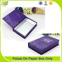 Special paper luxury drawer eyelash box packaging