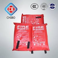 Emergency Out CE Approval Fiberglass fire fighting blanket thumbnail image