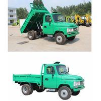 4WD light dumping truck