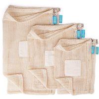 Cotton Mesh Bag, Cotton Net Bag, Mesh Fruit Packing Bag