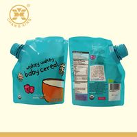Organic Baby Liquid Food Packaging Stand Up Pouch with Spout