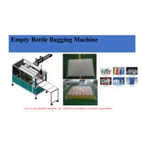 Empty bottle bagging full automatic machine thumbnail image