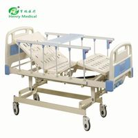 The best three crank manual hospital bed With Factory Wholesale Price