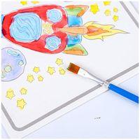 Art children gouache painting color painting kindergarten graffiti painting book