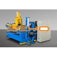 Double push weld bead rolling machine