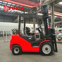 3ton LPG dual fuel forklift with Japanese Nissan engine