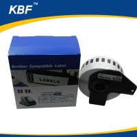 DK22210 Compatible DK continous Thermal label black on white 29mm30.48m thumbnail image