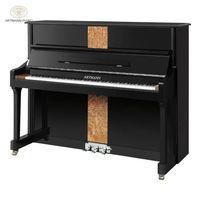 Shanghai Artmann mechanical ebony gloss 88 keys GD-125A2 vertical upright piano thumbnail image