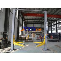 Clear Floor Type Overhead Hydraulic 2 Post Car Lift for Sale thumbnail image