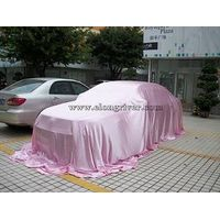 Pink Satin Reveal Cover / Car Show Cover / Car Exhibition Cover